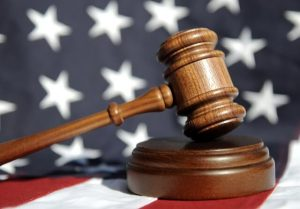 gavel, flag, federal criminal defense