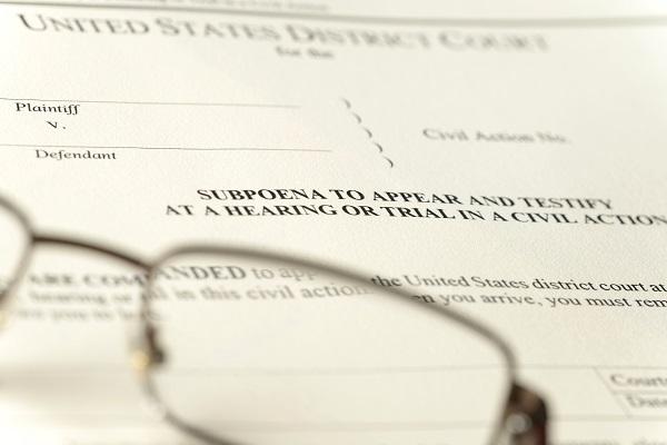 Federal Grand Jury Subpoena